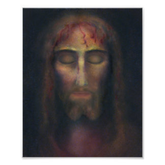 The Holy Face of Christ Poster