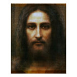 THE HOLY FACE OF JESUS POSTER