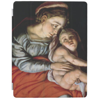 The Holy Family around a Fire, c.1532-33 iPad Cover