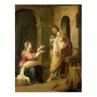 The Holy Family c 1660-70 Post Cards