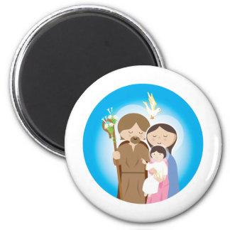 The Holy Family Fridge Magnet