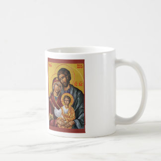 THE HOLY FAMILY ICON BASIC WHITE MUG