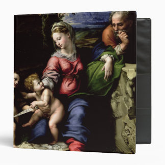The Holy Family of the Oak Tree, c.1518 Vinyl Binder