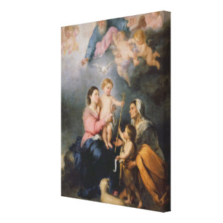 The Holy Family or The Virgin of Seville Canvas Print