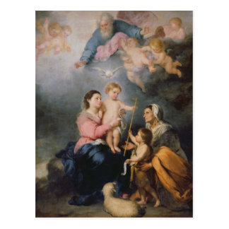 The Holy Family or The Virgin of Seville Postcard