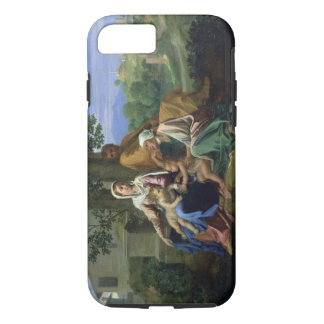 The Holy Family with SS. John, Elizabeth and the I iPhone 7 Case