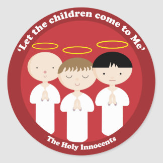 The Holy Innocents Classic Round Sticker
