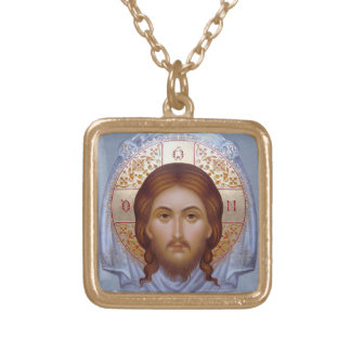 THE HOLY MANDYLION Icon Necklace