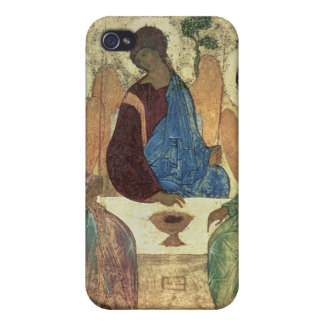 The Holy Trinity, 1420s (tempera on panel) iPhone 4/4S Covers