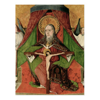 The Holy Trinity from the Mosol Altarpiece Postcard