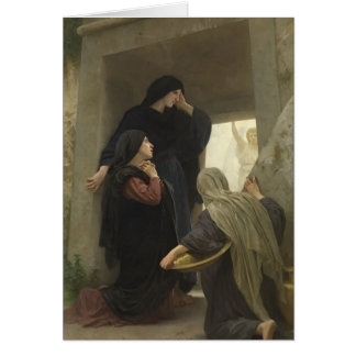 The Holy Women at the Tomb by William Bouguereau Card