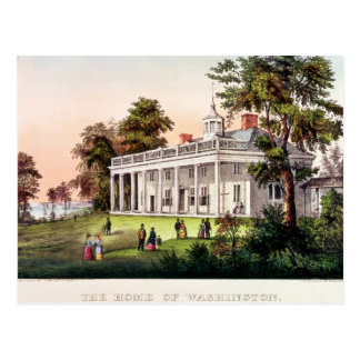 The Home of George Washington Postcard