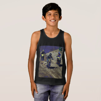 The Home Stretch! - Motocross Racer Tank Top