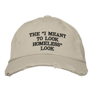 The Homeless Fashion Embroidered Hat