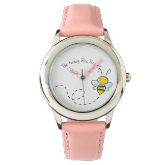 The Honey Bee Troupes Custom Stainless Steel Watch
