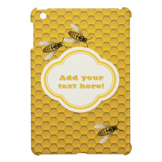 The Honeycomb and Bees iPad Mini Cases
