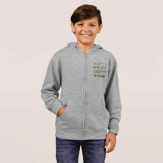 The hoodie of symbols