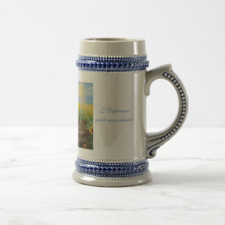 The Hope guides my way Beer Stein