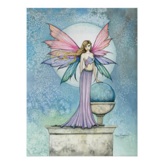 The Hope Stone Fairy Poster by Molly Harrison