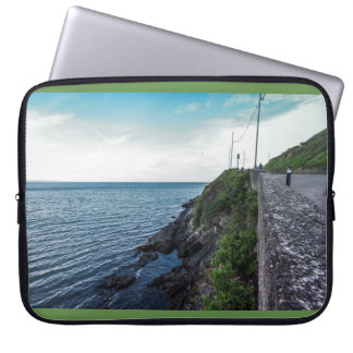 The horizon over the Irish sea Laptop Sleeve