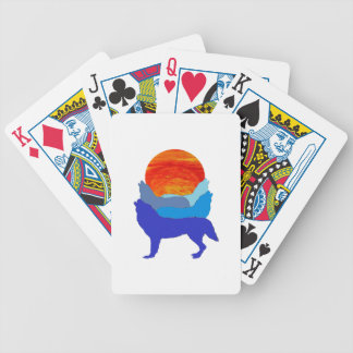 THE HORIZONS BICYCLE PLAYING CARDS