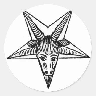 The Horned God Round Sticker
