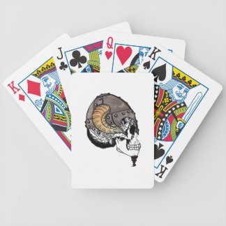 The Horned Warrior Bicycle Playing Cards