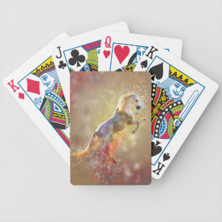 the-horse bicycle playing cards