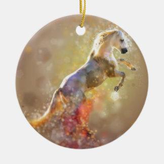 the-horse ceramic ornament