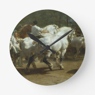 The Horse Fair by Rosa Bonheur Clock