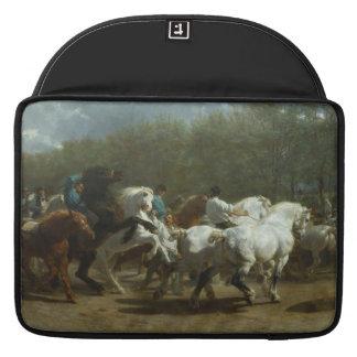 The Horse Fair by Rosa Bonheur MacBook Sleeve