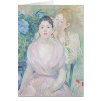 The Hortensia, or The Two Sisters, 1894 Card