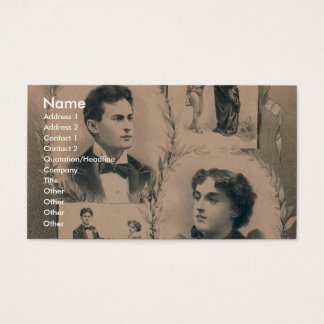 The Houdinis, 'Metamorphosis change in 3 seconds' Business Card