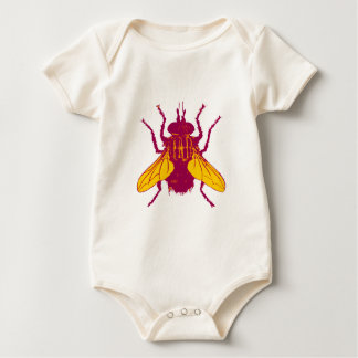 The House Fly Baby Bodysuit