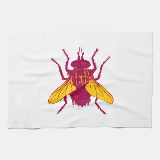 The House Fly Kitchen Towel