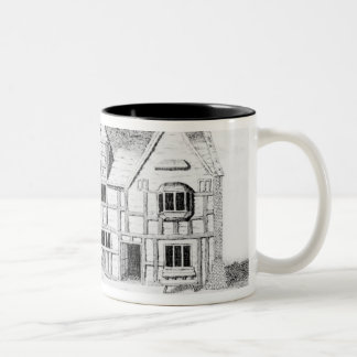 The House in Stratford-upon-Avon Two-Tone Coffee Mug