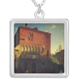 The House of Othello, the Moore in Venice, 1856 Silver Plated Necklace