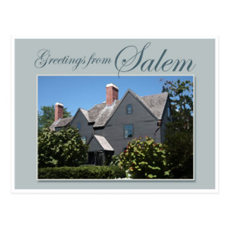 The House of Seven Gables Postcard