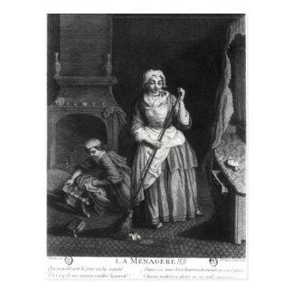 The Housekeeper Postcard