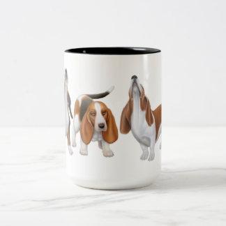 The Howling Basset Hounds Mug