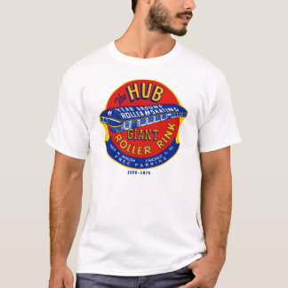 The Hub Roller Rink Chicago / Norridge Illinois T-Shirt