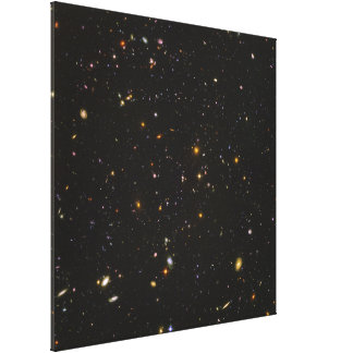The Hubble Ultra Deep Field Space Image Gallery Wrap Canvas