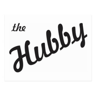 The Hubby Postcard