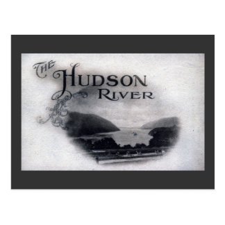 The Hudson River, New York, 1921 Vintage Postcard