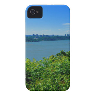 The Hudson River with NYC iPhone 4 Cover