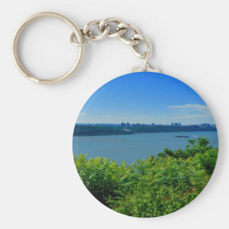 The Hudson River with NYC Keychain