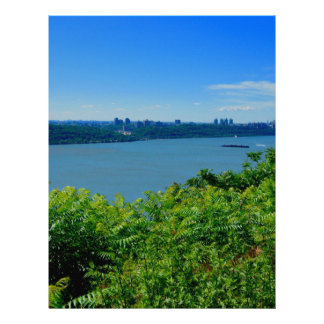 The Hudson River with NYC Letterhead