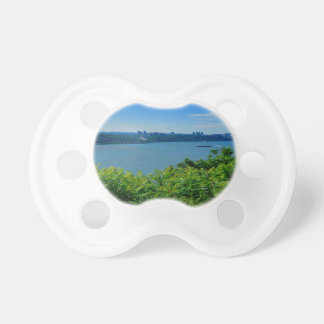 The Hudson River with NYC Pacifier