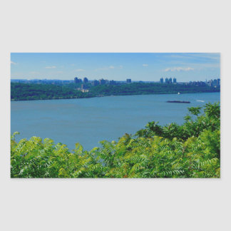 The Hudson River with NYC Sticker
