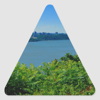 The Hudson River with NYC Triangle Sticker